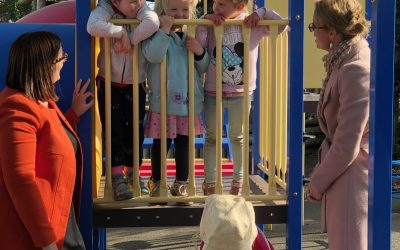 Minister tours electorate with Budget win for local preschools and parents
