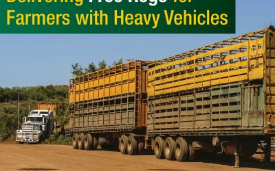 Free heavy vehicle rego and further discounts to put money back in farmers' pockets