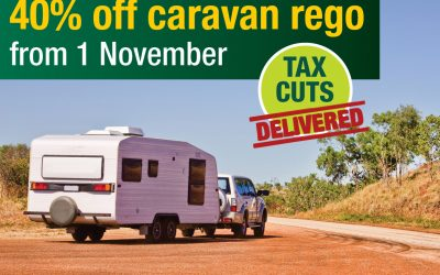 Caravan owners in Cootamundra set to save big
