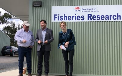New million-dollar research lab opens at Narrandera Fisheries Centre