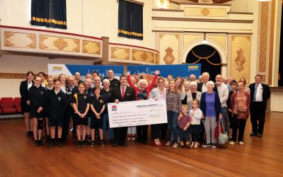 A $1.2 million injection of funds and enthusiasm for Junee