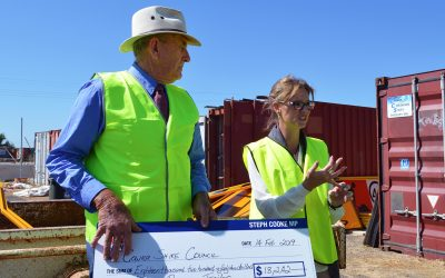 Cowra Council's ability to respond to emergencies strengthened through State Government grant