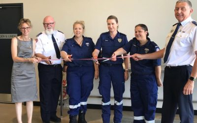 Community gathers to officially open the Harden Ambulance Station