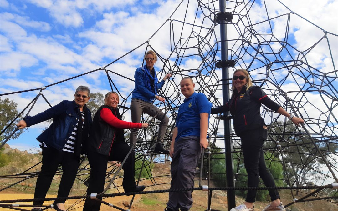 Cowra's Nature-Based Adventure Playground project on the up