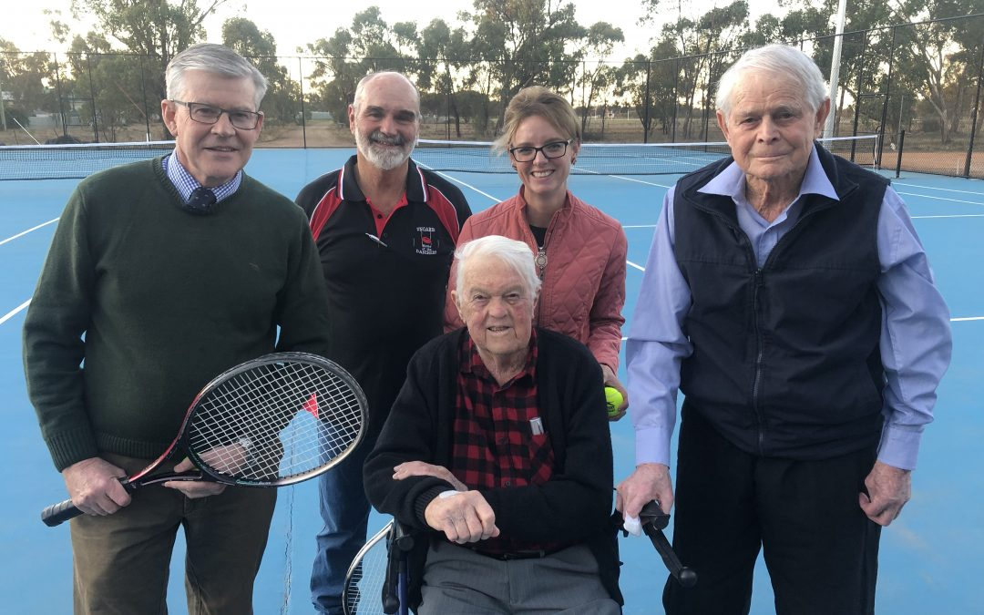 Stronger Country Communities Fund serves up three new courts for Ungarie