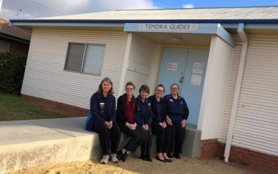 Grant allows Temora Girl Guides to ramp up accessibility