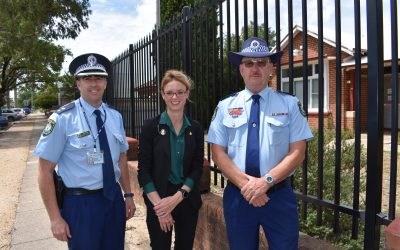 19 new officers for Cootamundra electorate's Districts