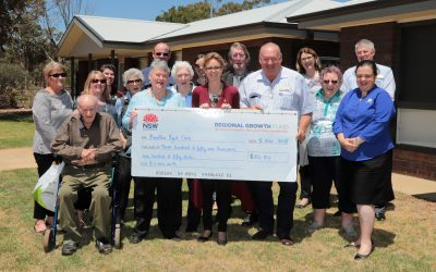Barellan Aged Care Units enable tenants to continue living in their beloved community