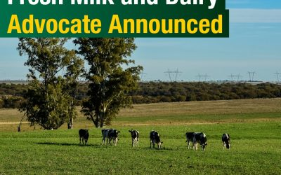 Dairy advocate will use extensive experience to present a strong voice for industry