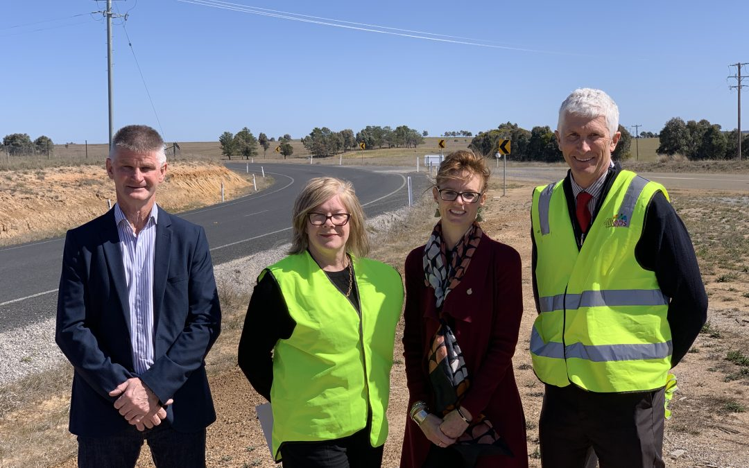 New heavy vehicle route linking Cunningar to Boorowa will boost safety and productivity