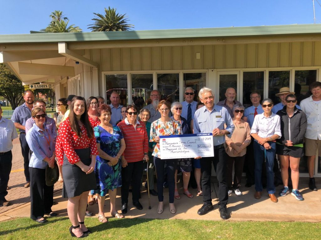 Member for Cootamundra Steph Cooke has announced $8 million funding for the Narrandera 'Playground on the Murrumbidgee'