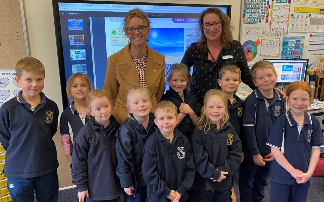 Families Benefit from New Before and After School Care Service in Gooloogong