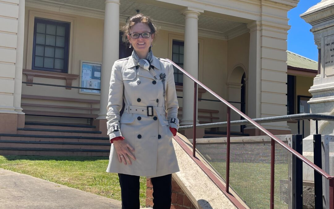 All Hands on Deck at Gundagai Courthouse